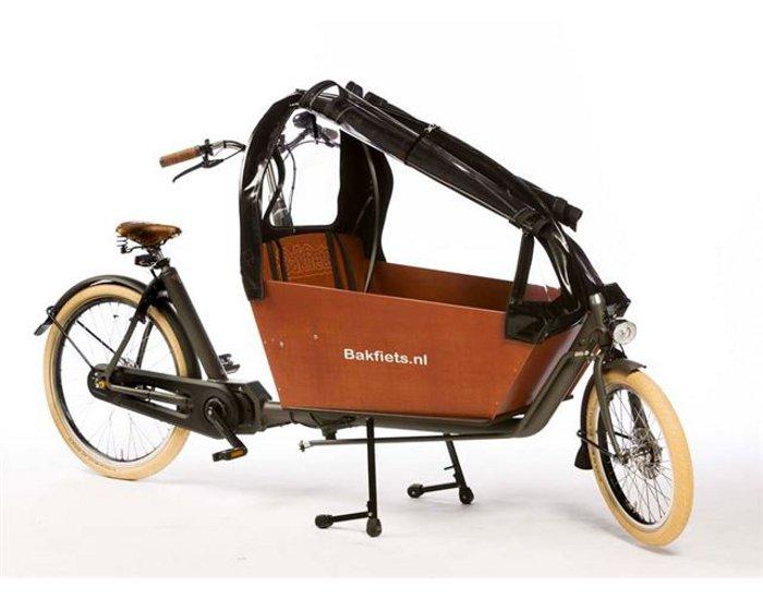 d385be19c599a2 Alle bakfietsen: Bakfiets.nl CargoBike Lang Cruiser - Elektrisch